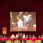 premiazione sul palco 2
